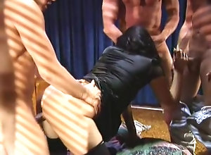 Facial,Anal,Careena Collins,Norma Jeane,Eva Flowers,Peter North,Tom Byron,Joey Silvera,Marc Wallace,Jon Dough,TT Boy Gang Bang Nymphette