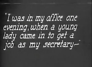 Vintage,Classic,Retro,Messy,Office,Secretary Filthy Boss Bangs...
