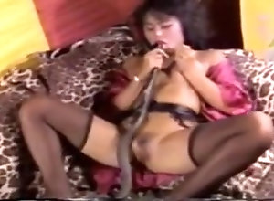 Asian,Vintage,Classic,Retro,Blowjob Snake Head