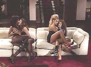 Lesbian,Latin,Asian,Rebecca Lord,Anna Malle,Misty Rain,Sindee Coxx,Marine Cartier,Tricia Yen,Tess Newheart,Chantilly Lace Strap-On Sally 5