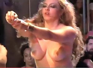 Vintage,Classic,Retro,Big Ass,Public,Mature,Nude naked on stage
