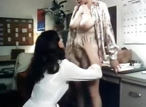 Lesbian,Lesbian,Secretary vint office lesbians