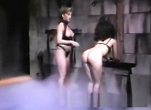 Lesbian,Brunette,Vintage,Classic,Retro,Fetish,Mature,Spanking,Dark Hair,Mistress,slutty,Spanked Slutty brunette...