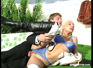 Big Tits;Blonde;Vintage,Big Tits;Blonde;Blowjob;Boots;Caucasian;Couple;Cum Shot;Hairy;Oral Sex;Outdoor;Vaginal Sex;Vintage Aliza Gets Fuck...