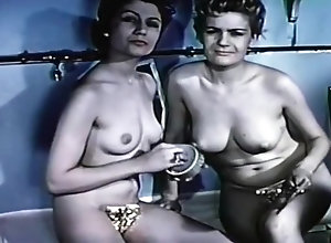 Lesbian,Vintage,Classic,Retro,Catfight,Classic,Nude Classic...