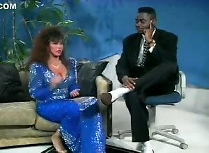 Interracial,Vintage,Classic,Retro,Big Tits,MILF,Dress,HD,Vintage Keisha Blue Dress...