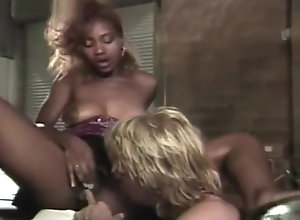 Interracial,Ebony,Vintage,Classic,Retro,Hardcore,Group Sex Gail Force and...