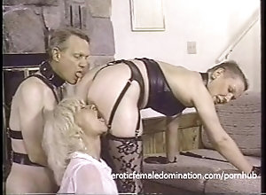 hardcore;foursome;brunette;blonde;babe;piercings;natural-tits;latex;bdsm;dominatrix;spanking;whipping;licking;blowjob;deepthroat,Bondage;Fetish;Vintage One raunchy...