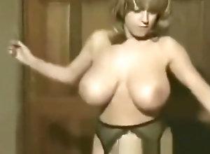 Vintage,Classic,Retro,Big Tits,Nude,Vintage Danciing Naked 2...