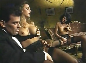 Anal,Double Penetration,Brunette,Blond,Vintage,Classic,Retro,Big Tits La clinica della...