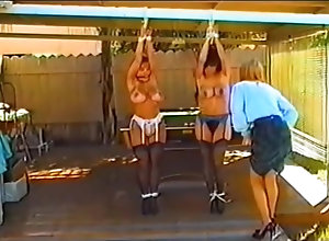 Vintage,Classic,Retro,BDSM,Gagging Strung Up &...