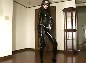 Asian,Vintage,Classic,Retro,Latex,Fetish,Japanese,Crop Whip,Hardcore,Latex,Mistress,Oriental,PVC,Slave,Wax Asian latex...