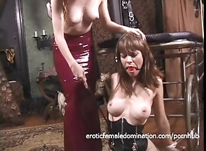 hardcore;brunette;babe;natural-tits;small-tits;dominatrix;shaved-pussy;bdsm;bondage;whipping;spanking;nipple;licking;latex;nipple-pinching;lesbian,Bondage;Fetish;Lesbian;Vintage Bound and gagged...