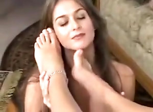 Lesbian,Vintage,Classic,Retro,april a,Foot Worship,Lesbian,Secretary,Worship April and Heather...