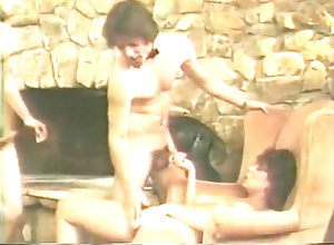 Vintage,Classic,Retro,Threesome,Hairy,Cumshot,Couple,Pornstar She enjoys two...