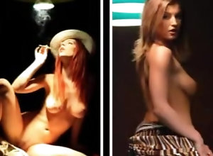 8::Solo Girl,235::Striptease,15458::Smoking,100 Nude and smoking...