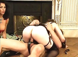 Facial,Fisting,Brunette,Vintage,Classic,Retro,Lingerie,Threesome,Stockings,Small Tits,Cumshot,Mature,MILF,Fisting,Threesome Fisting threesome...