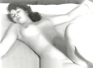 Vintage,Classic,Retro,Teens,Bedroom,Bitch,Nude,Perfect Cute Bitch Posing...