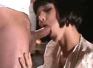 Vintage,Classic,Retro,Big Tits,Role-Play Skit Fuck...