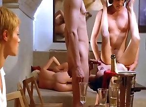 Vintage,Classic,Retro,Hairy,Group Sex,Cunnilingus,Blowjob,Cumshot,Orgy,Vintage Vintage Orgy 31