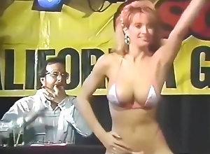 Vintage,Classic,Retro,Striptease,Amateur,American,Bikini,Contest 1990's...