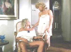 Lesbian,Vintage,Classic,Retro,Femdom,Strapon,Blonde,Couple,Lesbian,Strap-on Two Blonds Lesbo...
