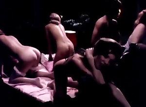 Vintage,Classic,Retro,Hairy,Group Sex,Cunnilingus,Blowjob,Cumshot,Orgy,Vintage Vintage Orgy 162