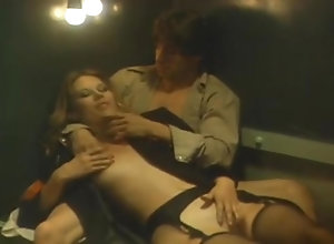 Brunette,Blond,Vintage,Classic,Retro,Cumshot Hot Stuff 1984