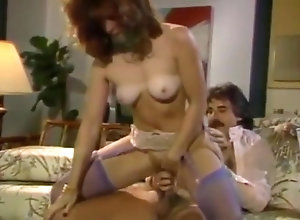 Brunette,Vintage,Classic,Retro,Hairy,Stockings,Big Cock Shanna Mc...