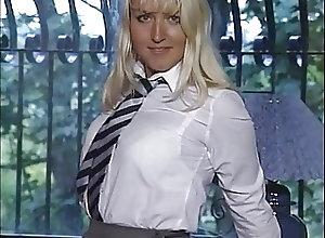 British;Blondes;Masturbation;Vintage SF351