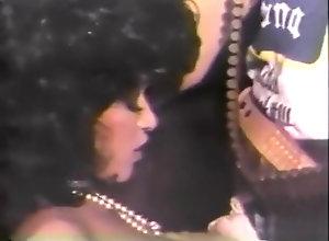 Ebony,Vintage,Classic,Retro Black And Horny -...