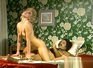 Vintage,Classic,Retro,Small Tits Flying High with...