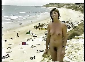 Beach;Brunettes;Vintage;Australian;Nudist;Nudist Beach;Documentary Maslin Beach...