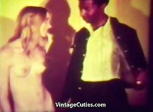 Blowjobs;Hairy;Teens;Vintage;Interracial;Black;Vintage Cuties Channel Black Deliveryman...