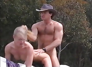Blondes;Blowjobs;Outdoor;Fucking;Retro Horseback Fucking