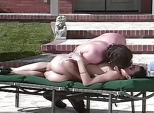 Cumshots;Vintage;Pool Sex;Pool Sex next to the pool