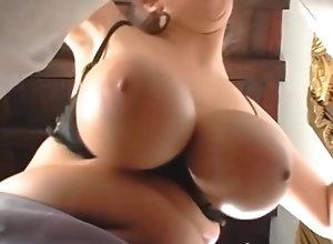 Brunette,Vintage,Classic,Retro,Big Tits,Stockings,Cumshot,MILF The Promotion