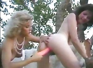 Babes;Vintage;Small Tits;Big Nipples Bionca, Ginger Lynn