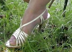 Nylon;Stockings;Vintage Upskirt Aleissa2