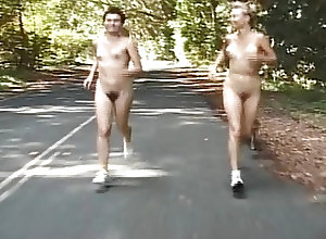 Amateur;Public Nudity;Vintage;Running naked running