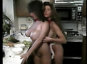 Lesbians;Matures;Big Boobs;Vintage;MILFs;Kitchen;Busty Lesbians;Fun;Kitchen Fun Busty lesbians...