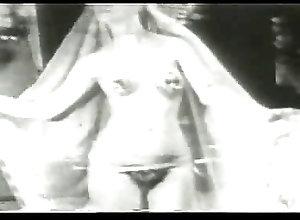 Hairy;Vintage;Harem 1930s harem 2