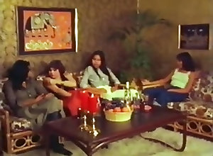 Lesbians;Vintage thai lady love