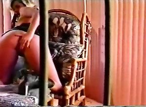 Masturbation,Vintage,Classic,Retro,Masturbating PJ Sparxx...