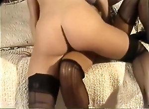 Vintage,Classic,Retro,Threesome,Hardcore,Vintage Amber Lynn - Scene 2