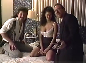 Vintage,Classic,Retro,Threesome,Old and Young,Amateur,British,Couple,Knockers,Perfect,Retro,Sex Tape Retro sextape of...