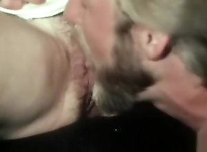 Brunette,Vintage,Classic,Retro,Public,Blowjob,Babysitter Fucking with the...