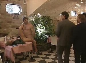 Vintage,Classic,Retro,Public,Blowjob,Jock Dinning on cock -...