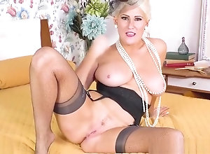 Masturbation,Blond,Vintage,Classic,Retro,Hairy,Stockings,Amateur,British,Solo Female,Blonde,blond big tits,Blonde,Fishnet,Knockers,Nylon,Vintage,Lu Elissa Hot busty blonde...