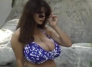 Vintage,Classic,Retro,Big Tits,Voyeur,Outdoor,Mature,alexis love,Pool,Swimming Joyce Gibson aka...